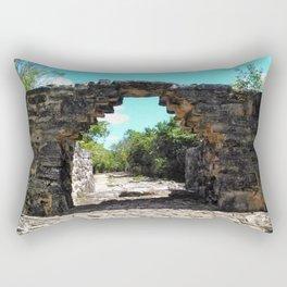 A Mayan Archway Rectangular Pillow