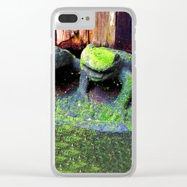 The Frog Princes Clear iPhone Case