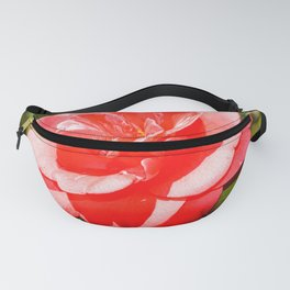 Pink Camellia Fanny Pack