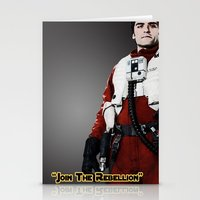 poe Stationery Cards featuring Poe by KL Design Solutions