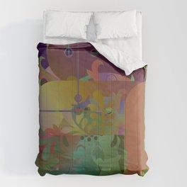 Retro Kimono Comforters