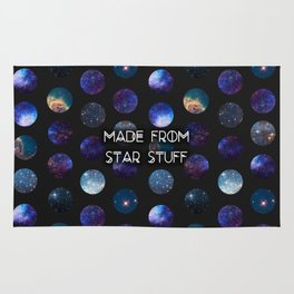 Made From Star Stuff in Black Rug