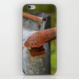 Rusted Fencepost iPhone Skin