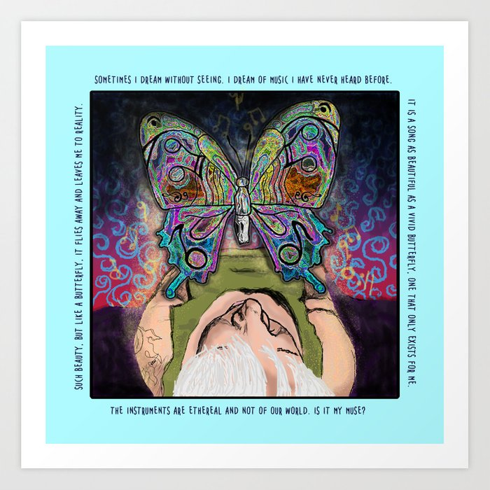 Dreaming the Muse Art Print