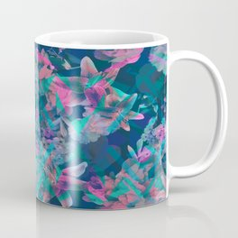 Geometric Floral Coffee Mug