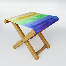 Some kind of rainbow Folding Stool