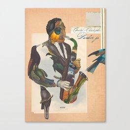 charlie parker Canvas Print