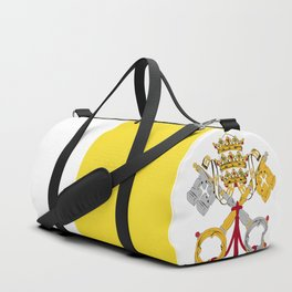 Vatican City Holy See flag emblem Duffle Bag
