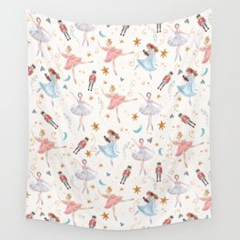 Christmas ballet Wall Tapestry