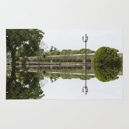 Reflections on the Lake Rug