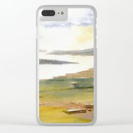 Pastoral Clear iPhone Case
