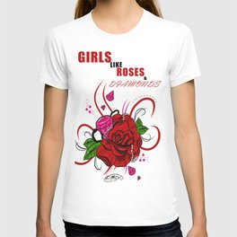 Rose & Diamonds T-shirt