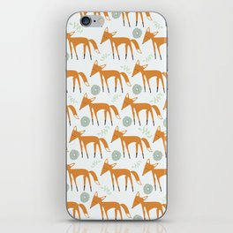Foxy Pattern iPhone Skin