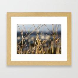 It's a grass life Framed Art Print
