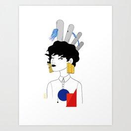 Portrait 1 Art Print