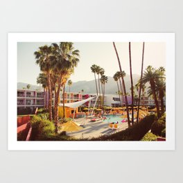 THE SAGUARO HOTEL Art Print