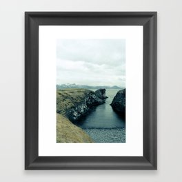 Snaefellsness Framed Art Print