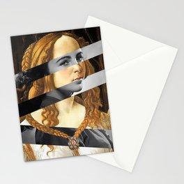 "Sandro Bottiecelli's Venus from ""Venus and Mars"" & Liz Taylor Stationery Cards"