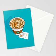 Trumpkin Spice Latte Stationery Cards