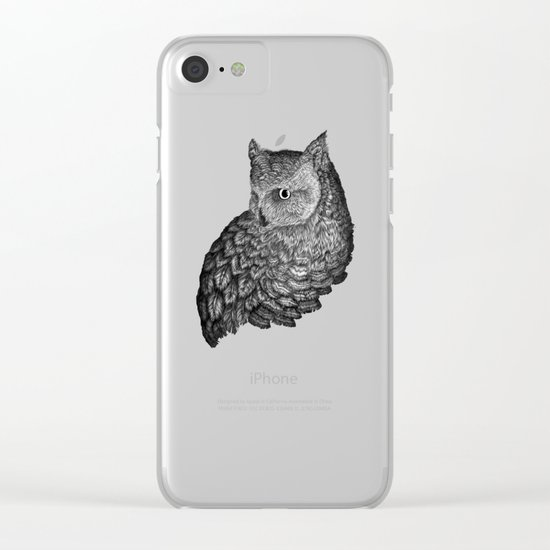A Friend for Forsythe in Black Clear iPhone Case