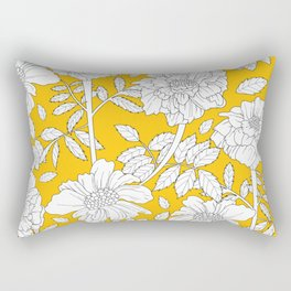 flower Rectangular Pillow