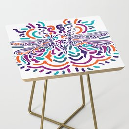 Colorful Fly Side Table