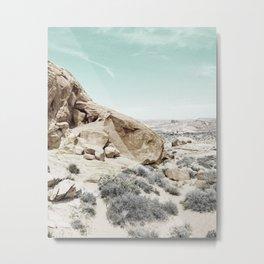 Desert print, Minimal, Photo, Plant print, Trendy print Metal Print