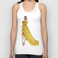 rihanna Tank Tops featuring Rihanna by Armand Mehidri