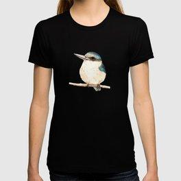 Kotare / Kingfisher - a sacred New Zealand native bird 2013 T-shirt