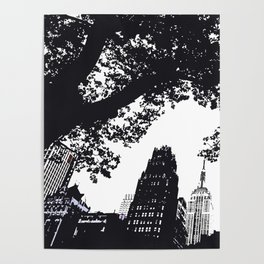 Bryant Park View-NYC Poster