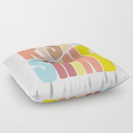 Rise & Shine Floor Pillow
