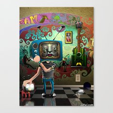 Stay Tuned Canvas Print