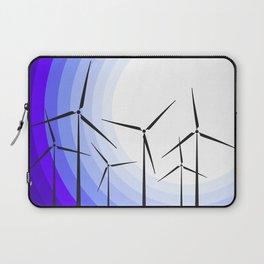 Windmills - Moonrise Laptop Sleeve