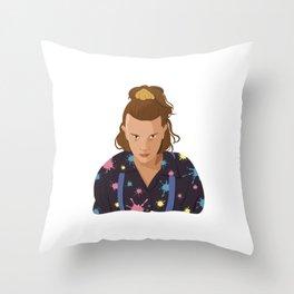 11 Stranger Eleven Throw Pillow