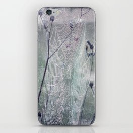 spider web iPhone Skin