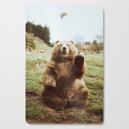 Hi Bear Cutting Board