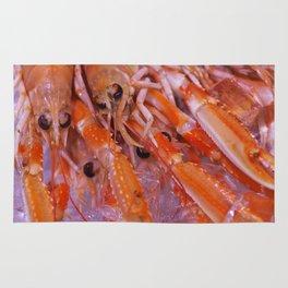 Gourmet Shrimp Rug