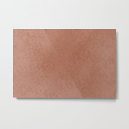 Sherwin Williams Cavern Clay Liquid Hues Illustration Metal Print