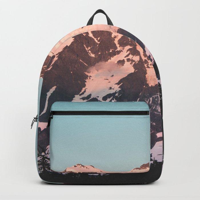 Pink Cascade Mountain Backpack
