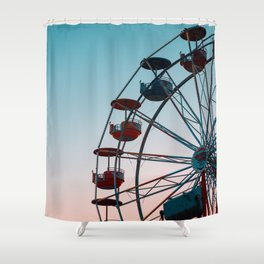 FERRIES WHEEL Shower Curtain
