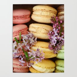 Pretty Macaroons Poster