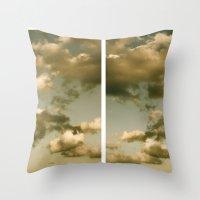 rorschach Throw Pillows featuring Rorschach by GBret