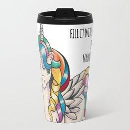 Rainbow Pony Travel Mug
