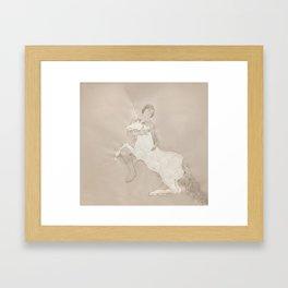 To Hold Framed Art Print