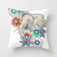 Elephanté Throw Pillow