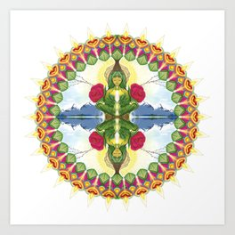 Divine Mother Mandala Art Print