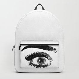eye black & white Backpack