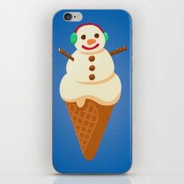 Frosty Softy Snowman Snowcone iPhone Skin