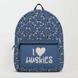Alaskan Husky Dog Backpack