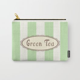 Green Tea Antique Carry-All Pouch